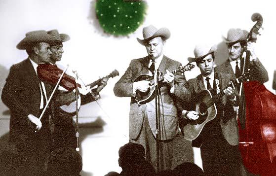 bill monroe and the blue grass boys christmas 1968 - Bluegrass Christmas